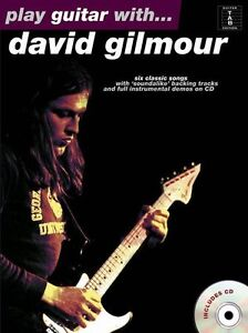 With david gilmour learn to play pink floyd tab music book amp cd ebay