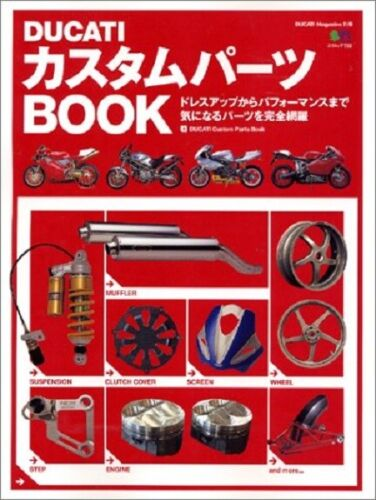 DUCATI Custom Parts Dress-up Performance Parts Complete Guide Book 487099920X