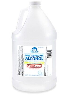 Brand NEW 99% Isopropyl Rubbing Alcohol - GALLON , EXP  in  2019 or LATER !