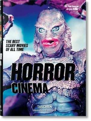 HORROR CINEMA ~ BEST SCARY MOVIES OF ALL TIME ~ ILLUS ~ TASCHEN ~ NEW ~