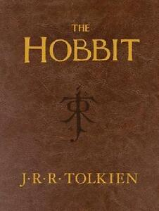 J-R-R-TOLKIEN-THE-HOBBIT-LEATHER-POCKET-ED-UNABRIDGED-1st-PRNT-NEW
