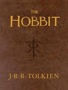 J-R-R-TOLKIEN-THE-HOBBIT-LEATHER-POCKET-ED-UNABRIDGED-1st-PRNT-NEW