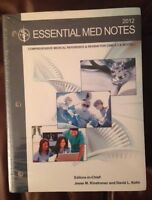 Essential MED Notes (2012)/ Toronto Notes