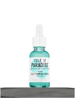 Isle of Paradise Self-Tanning Drops MEDIUM Golden Glow FULL SIZE 1 oz 30 ml