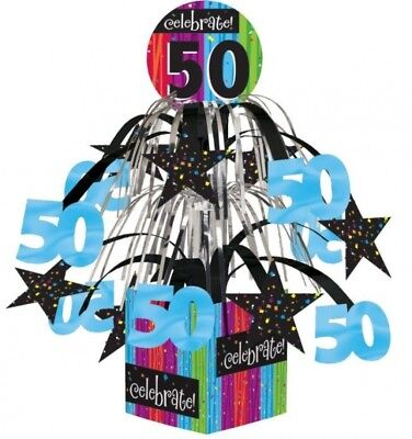 Milestone Celebration 50th Birthday Mini Cascade Centerpiece Party - 50th Birthday Milestone