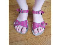Saltwater Sweetheart kids' sandals size 10 UK