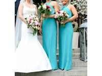 Beautiful preloved Dessy bridesmaid dresses for sale. Like new.