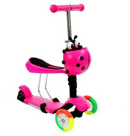 KIDS SCOOTER 3 IN 1