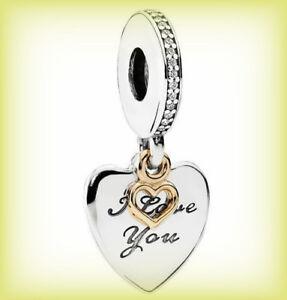52f758990 ... Fine Jewellery · Fine Charms & Charm Bracelets · Genuine PANDORA I LOVE  YOU FOREVER Pendant Charm 792042CZ Silver S925 ALE