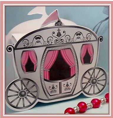 PRINCESS  ENCHANTED CARRIAGE GIFT BOX