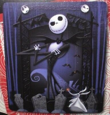 New Graveyard The Nightmare Before Christmas GIFT Plush Throw Blanket Jack Zero