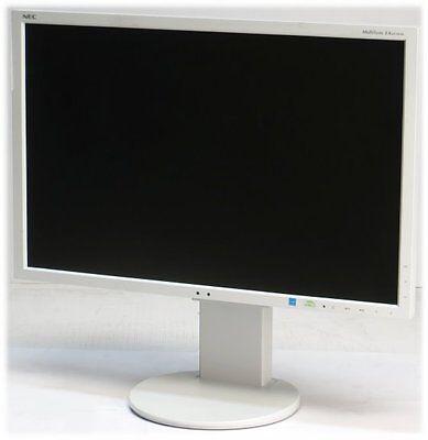 24  TFT NEC MultiSync EA243WM Pivot 1920x1200 FullHD HDMI DisplayPort Monitor