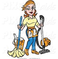 Weekly cleaning / houskeeper required (1-2 days/week)