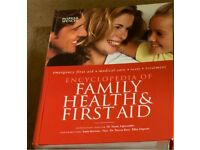 M&S FIRST AID BOOK Thick hard back Family health & first aid encyclopaedia