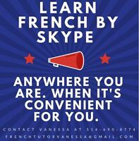Learn French by Skype! Anywhere you are!