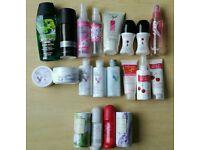 Toiletries x 20 items (BRAND NEW)