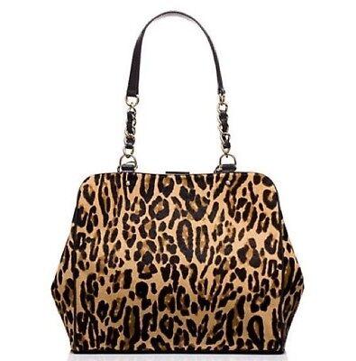 Point Spade - NWT - Kate Spade Crown Point Garcia, Leopard, MSRP $1,295