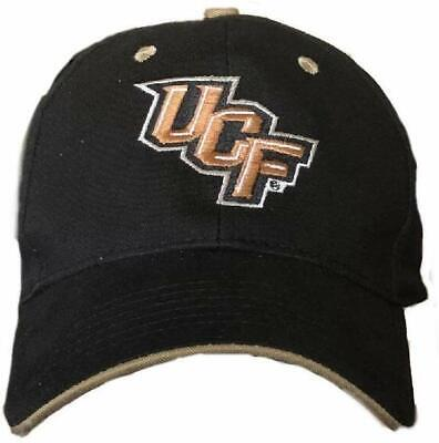 University of Central Florida UCF Golden Knights Black Cap Hat University Central Florida Golden Knights
