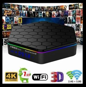 FAST ANDROID TV BOX T95Z PLUS OCTA CORE UHD 4K - FULLY LOADED