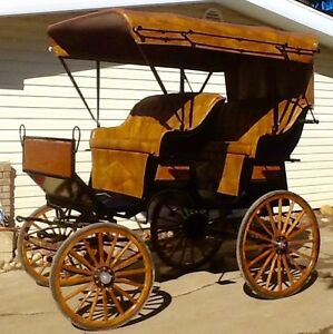 New horse surrey carriage buggy