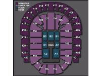 2 WWE Live at the o2. 7th September ticket. Great view of ring.