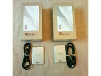 2x LG G3 empty boxes with accessories