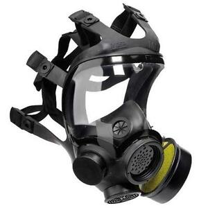 Advantage-1000-Riot-Control-Agent-Gas-Mask-never-used-in-case
