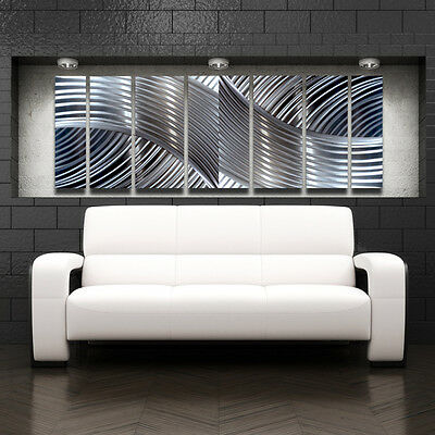 Modern Contemporary Abstract Metal Wall Sculpture Art ...