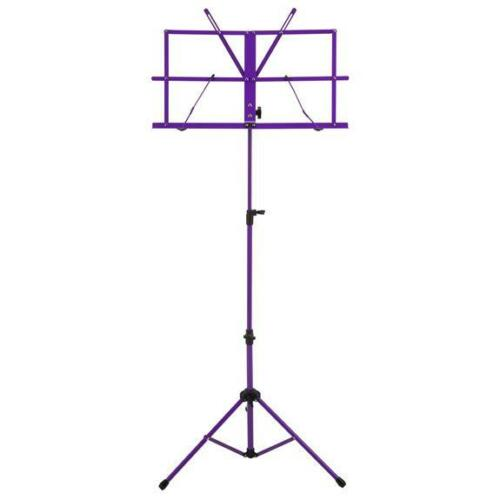 Ravel Folding Sheet Music Stand w/ Carrying Bag, Purple