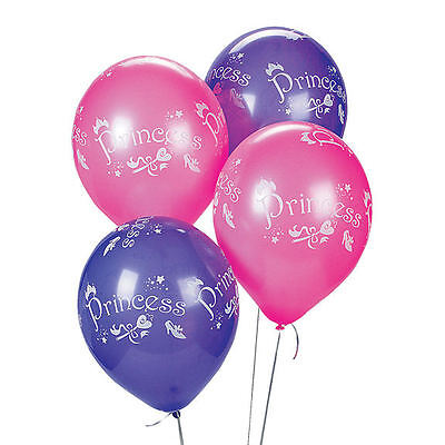 Pastel Princess (12 fairy Princess Pastel Balloons Lavender & Pink Birthday Party)
