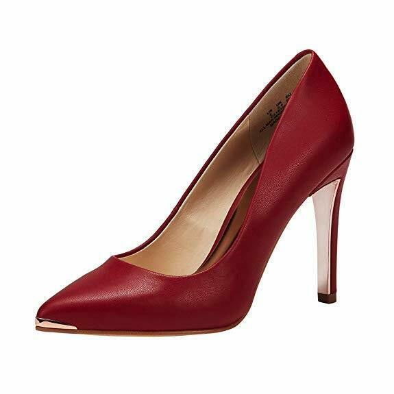 Women's Closed Pointed Toe Pumps Stiletto High Heels Office Lady High Heel Shoes 1