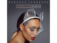 Rebecca Ferguson Tickets - Bridgewater Hall, Manchester 24th October 2016