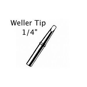 weller w100 soldering iron tip 1 4 inch 700 degree tip p n ct6e7. Black Bedroom Furniture Sets. Home Design Ideas