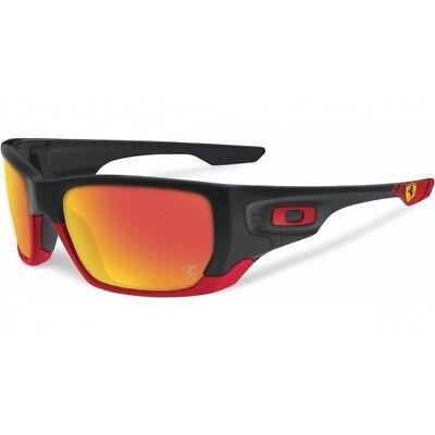 New Genuine Oakley Switch Sunglasses Black / Orange / Gold Ferrari
