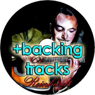 DJANGO REINHARDT GYPSY JAZZ GUITAR TAB CD TABLATURE + BACKING TRACKS BEST