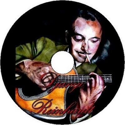 DJANGO REINHARDT GYPSY JAZZ GUITAR TAB CD TABLATURE SONG BOOK GREATEST HITS