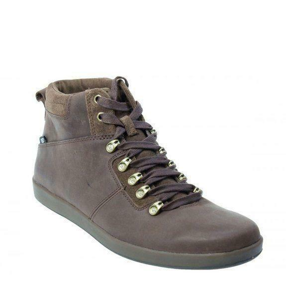 """Caterpillar CAT Roarke 6/"""" Sirroco Lace Up Smooth Leather Trainer Boots UK 6-8"""