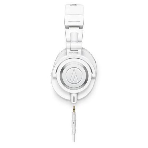 Audio-Technica ATH-M50x Monitor Headphones White AUD ATHM50XWH