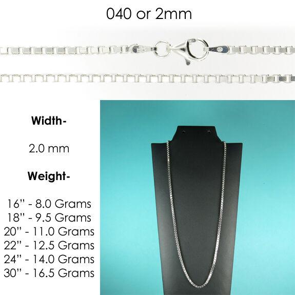 2.0 mm or 040 Gauge