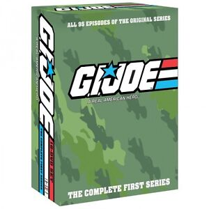 G.I. GI Joe: A Real American Hero Complete Original Series, All 95 Episodes NEW!