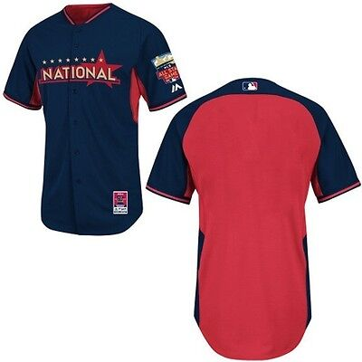 Derby Jersey - National League 2014 All-Star Authentic Batting Practice / Home Run Derby Jersey