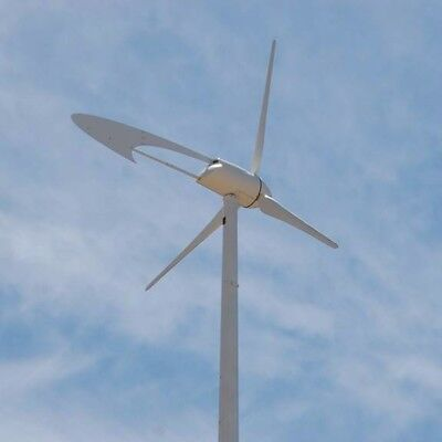 5,400 watt Wind Turbine Complete with Tower and Foundation Kit (SWCC certified)
