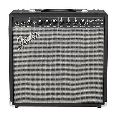 Fender 2330300000 Champion 40 40-Watt Guitar Combo Amplifier