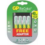 GP U421 Powerbank incl. 4 ReCyko+ AA batterijen