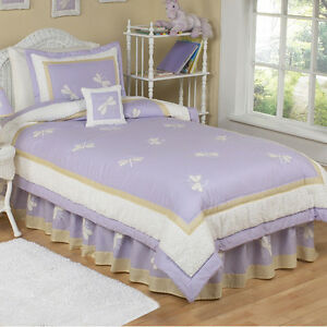 Purple Dragonfly Dreams Bedding Set - Twin Size Cambridge Kitchener Area image 1