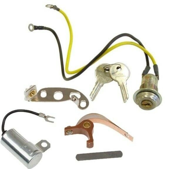 Details about Ignition Kit & Key Switch Starter for Ford 2N 9N 8N Tune-up  Repair W/Front Mount
