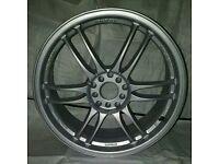 """Set of 4 18"""" alloy wheels"""