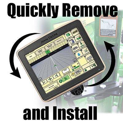 Kit For Quickly Attaching A John Deere 2600 2630 Ams Gs2 Gs3 Gps Monitor Display
