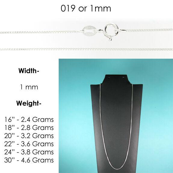 1.0 mm or 019 Gauge