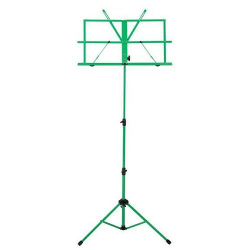 Ravel Folding Music Stand w/ Carrying Bag, Green